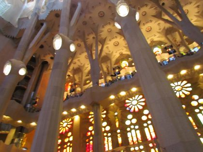 Emoció i alegria cantant junts amb 500 més cantaires a la Basílica de la Sagrada Familia