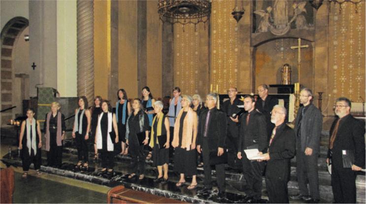 Coral Shalom a l'Església de Santa Maria de Gràcia