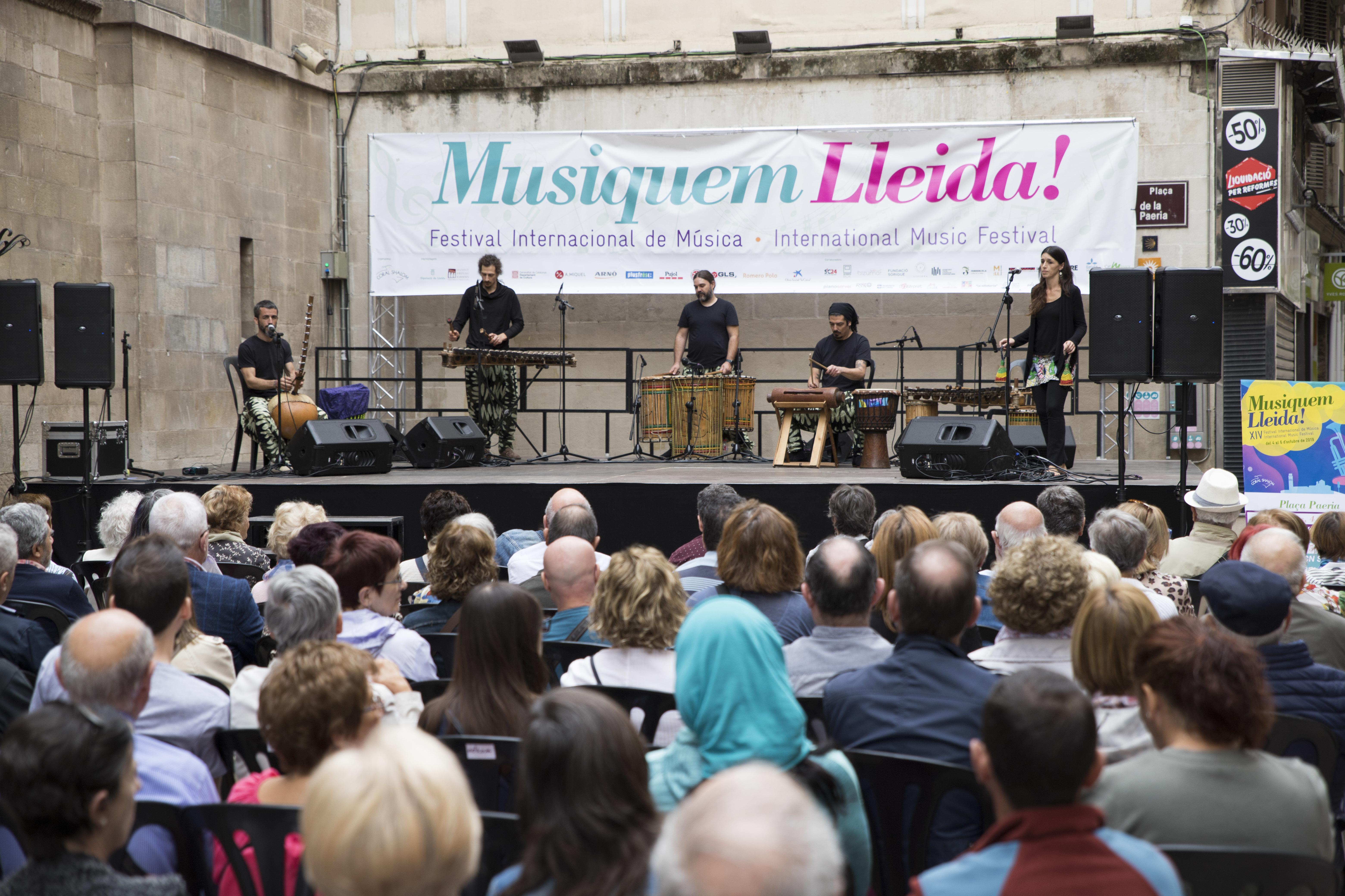 La XIV edició del Musiquem Lleida es clou amb la mirada posada en ampliar escenaris a Lleida però també a comarques