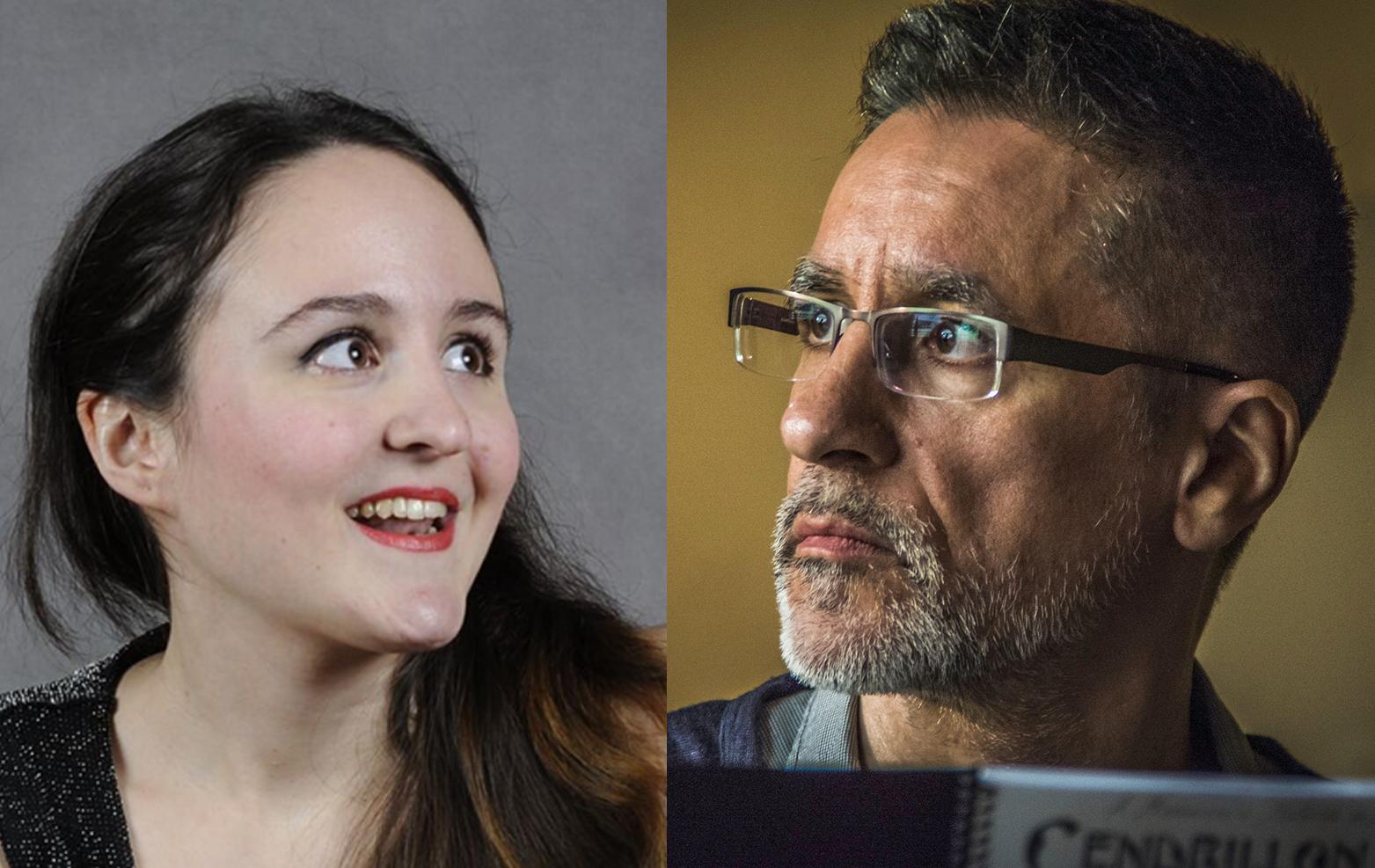 Patricia Castro i Aurelio Viribay