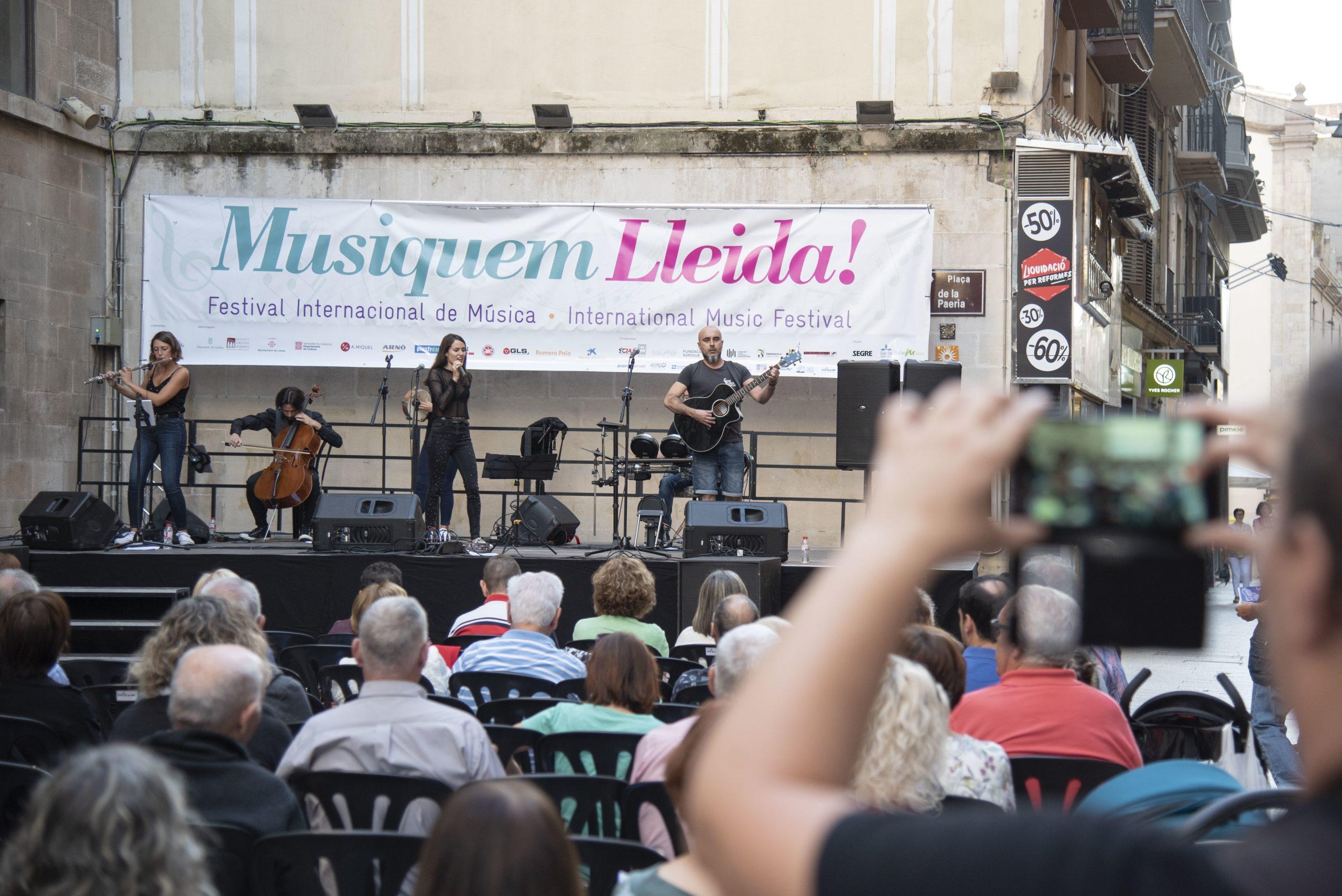 El festival 'Delicatessen Musiquem Lleida!' arriba aquest cap de setmana a la capital del Segrià amb vuit actuacions en tres espais de la ciutat