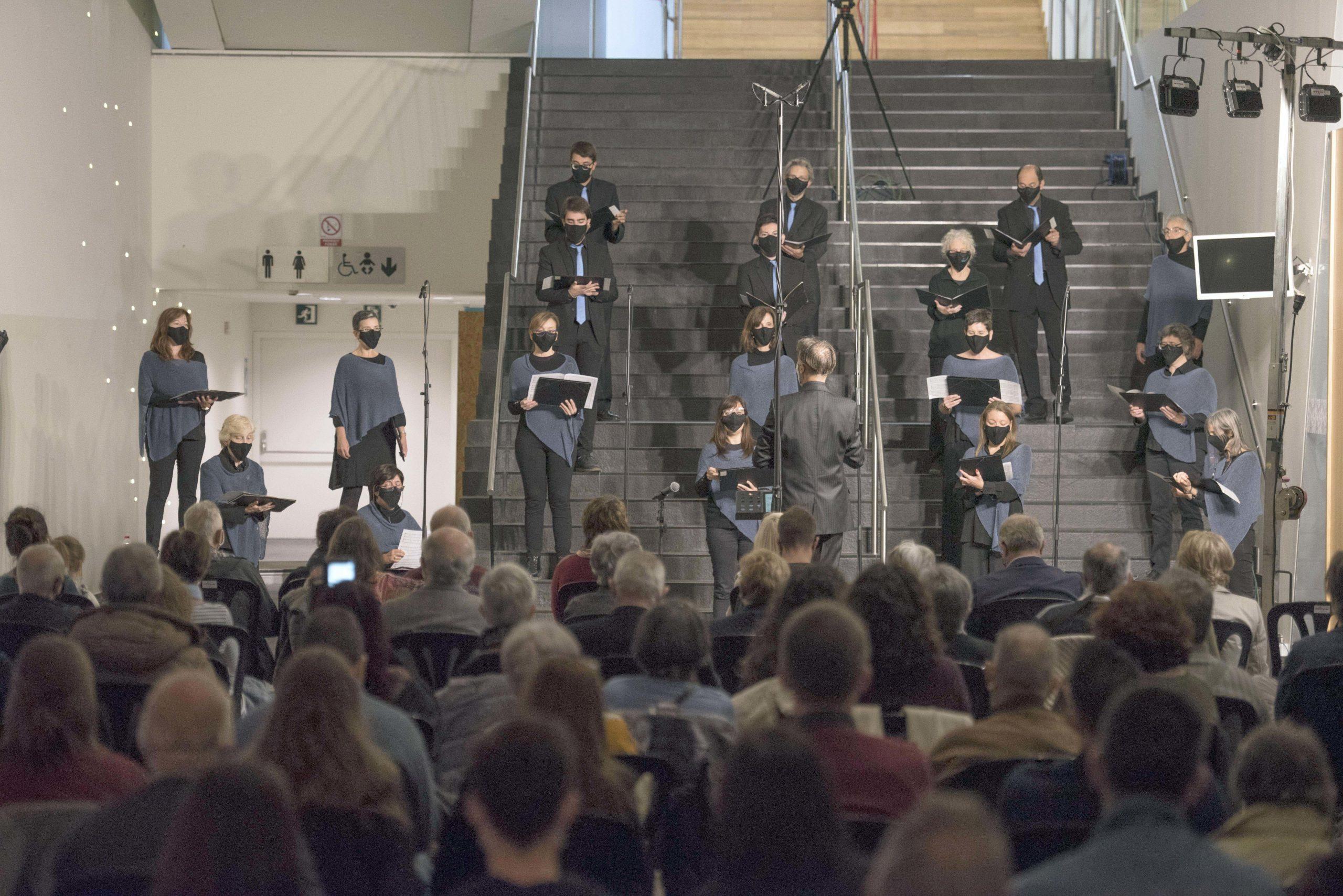Un concert de la Coral Shalom inaugura el 'Delicatessen Musiquem Lleida!'
