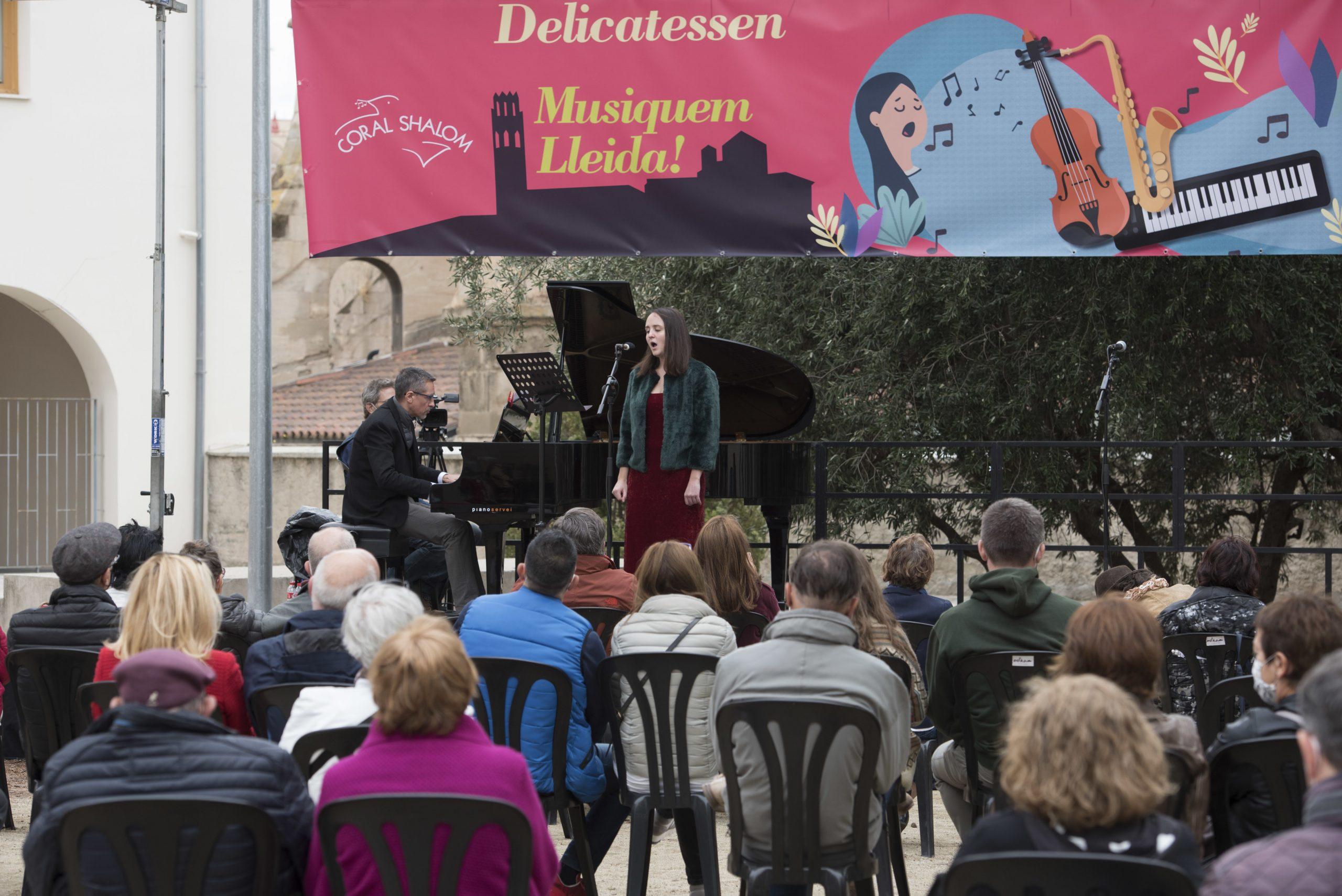 Èxit de públic al segon dia del 'Delicatessen Musiquem Lleida!', que s'acaba demà amb concerts de piano, percussió i un sextet de metall