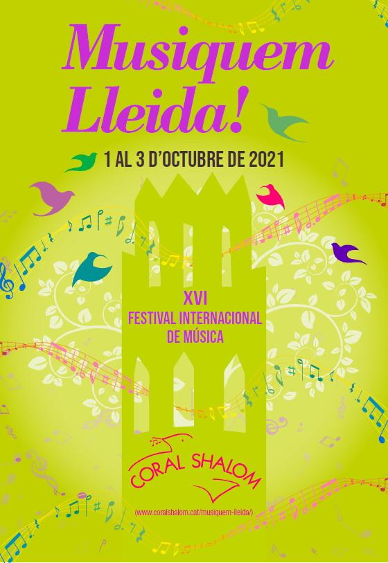 imatge del folleto de Musiquem Lleida 2021